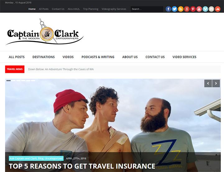 captain and clark blog