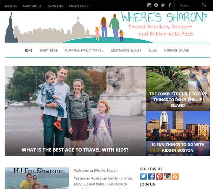 wheres sharon blog