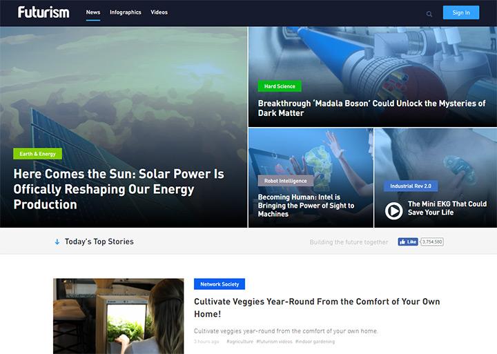 futurism blog