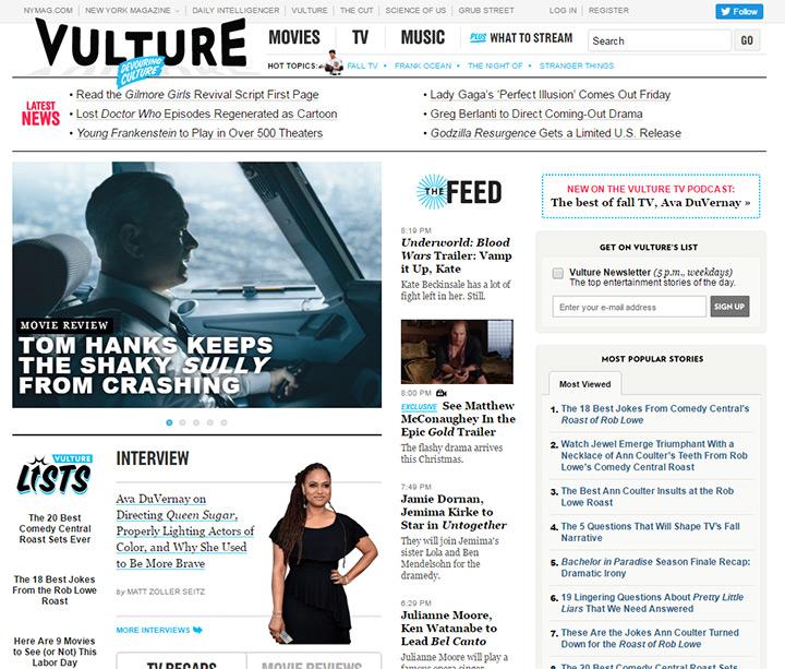 vulture blog
