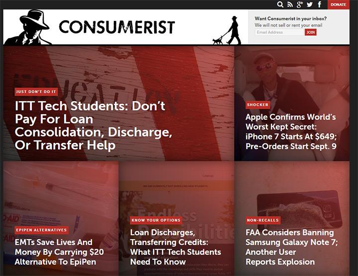 consumerist blog