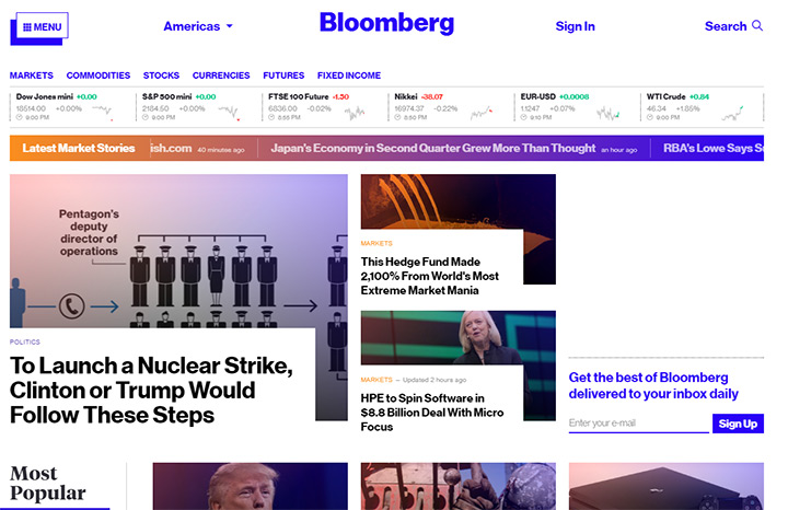 bloomberg blog