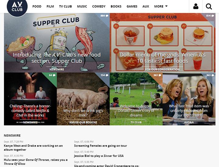 av club blog
