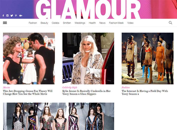 glamour blog