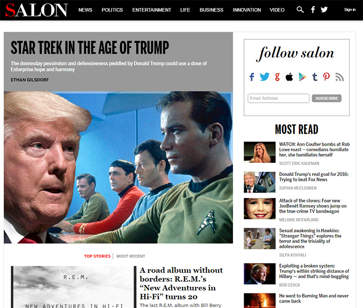 salon blog