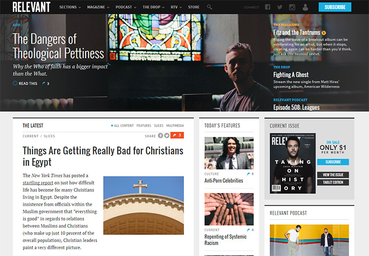 relevant magazine blog