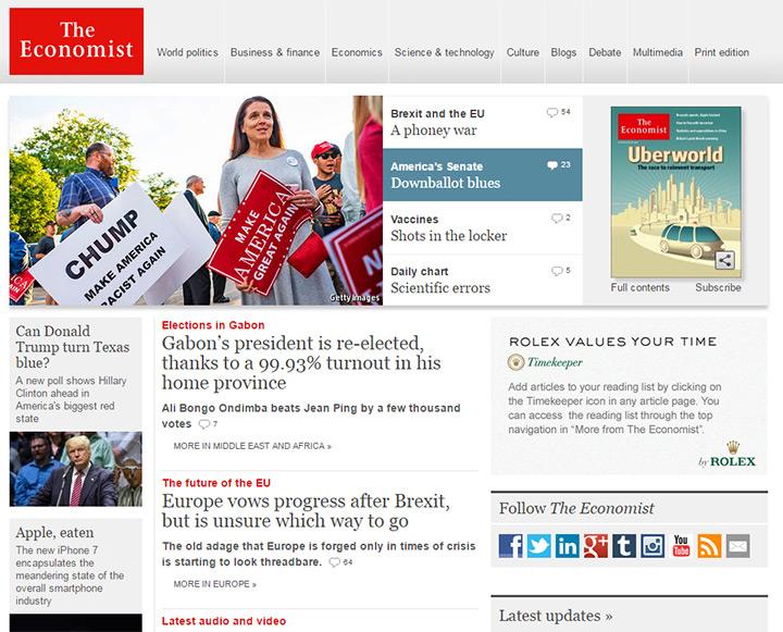 economist blog