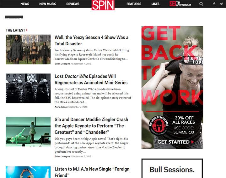 spin magazine blog