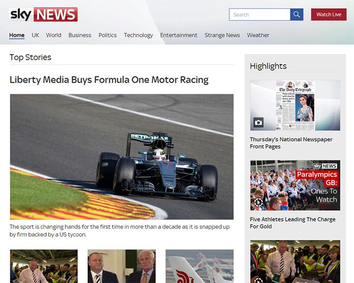 sky news blog