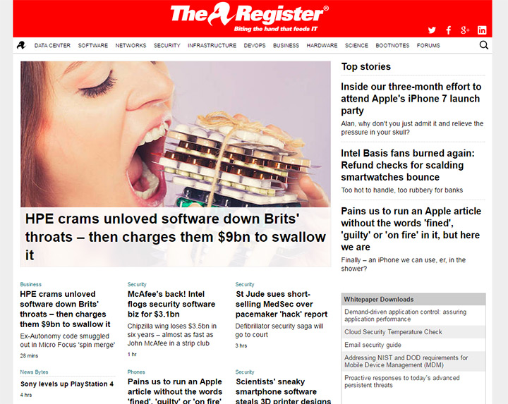 the register blog