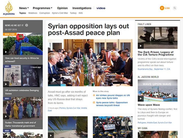 al jazeera blog