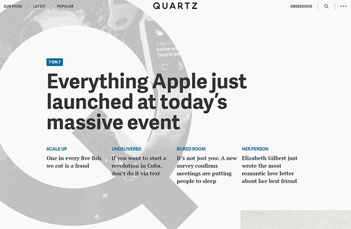 quartz blog
