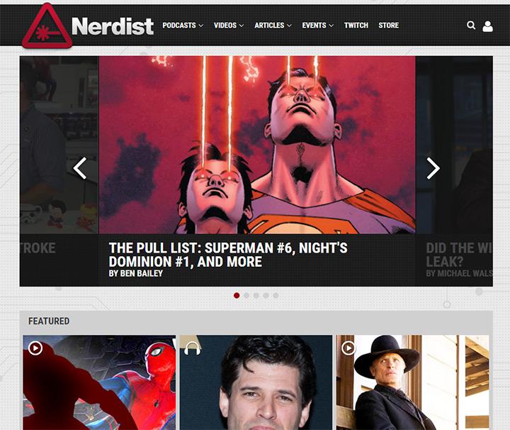 nerdist blog