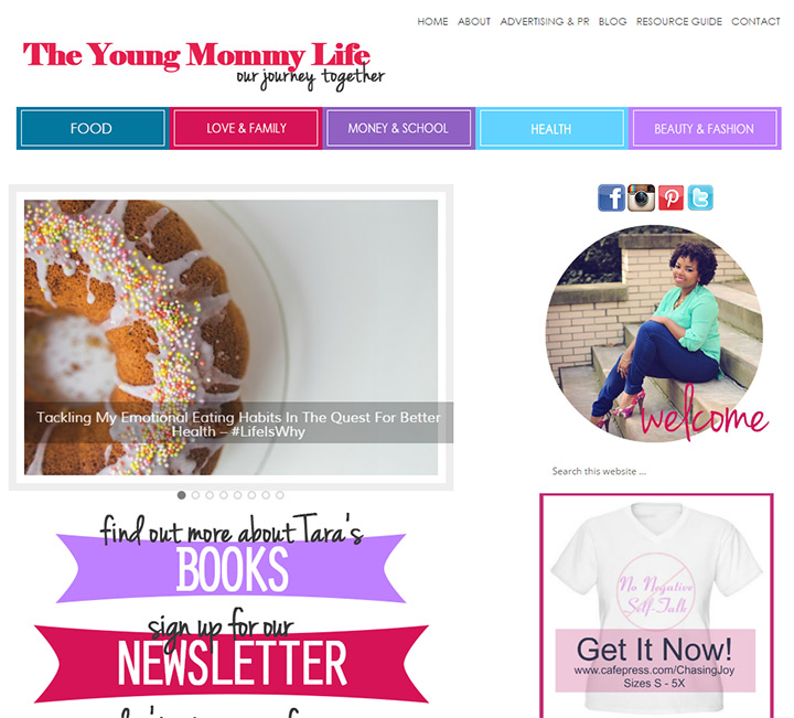 young mommy life blog