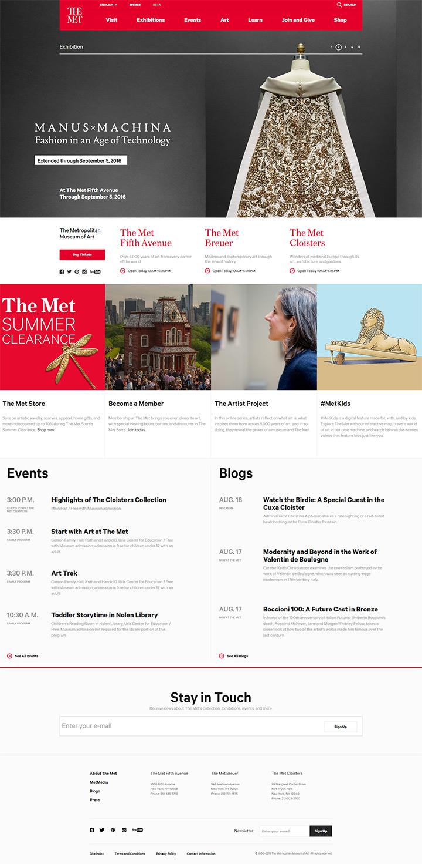 100+ Museum & Art Gallery Websites For Design Inspiration