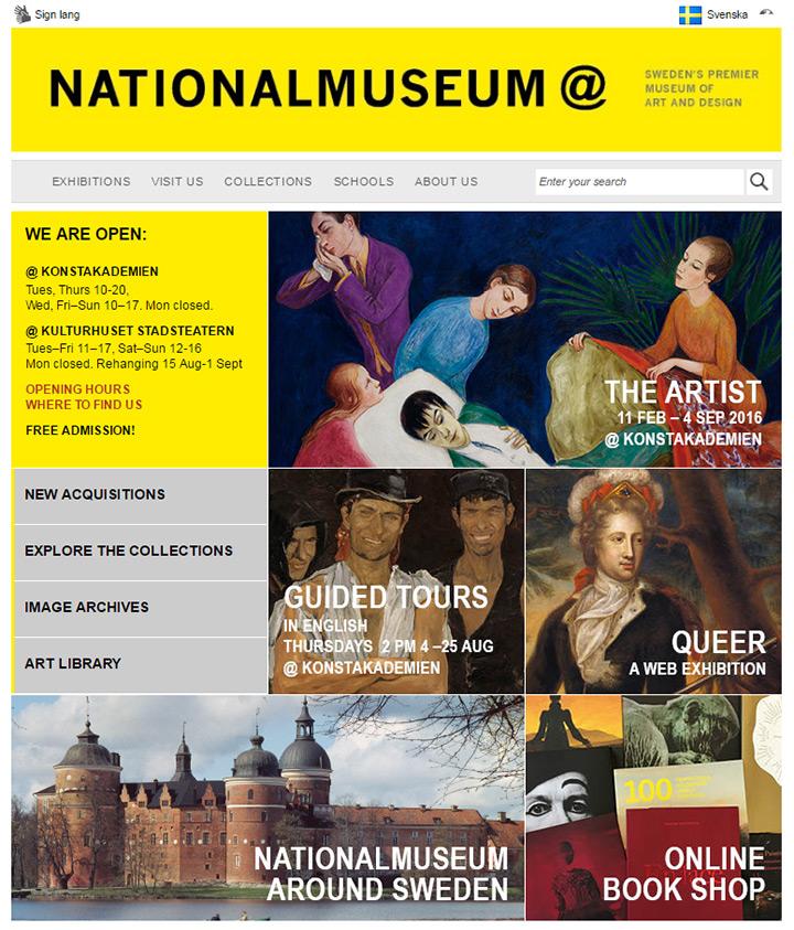 sweden museum of art