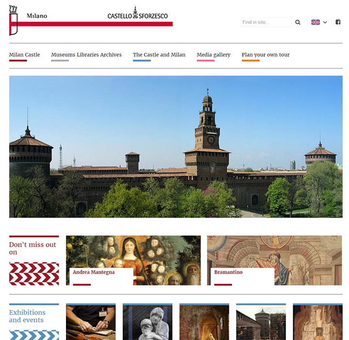 milan castle gallery