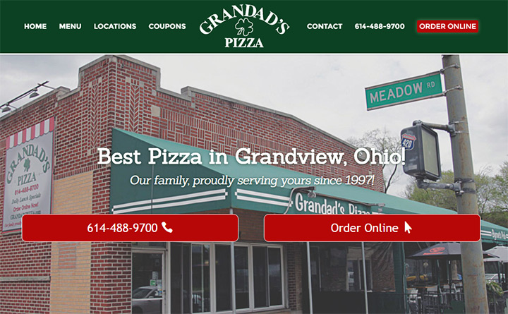 grandads pizza