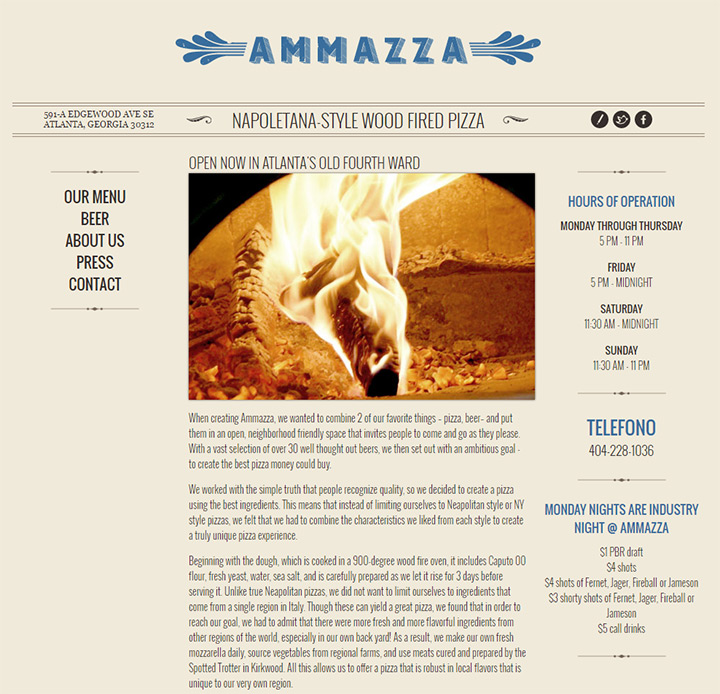 ammazza website