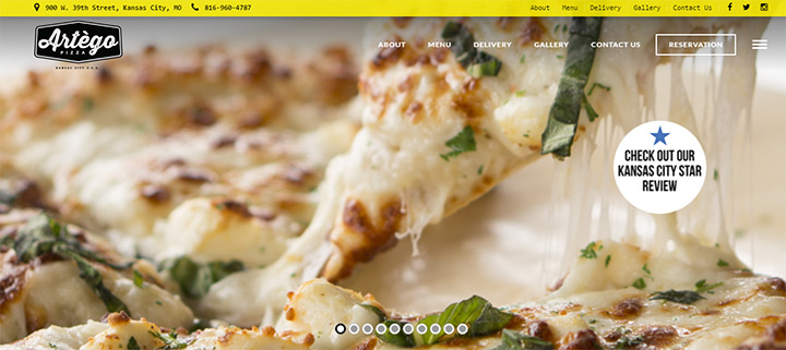 artego pizza