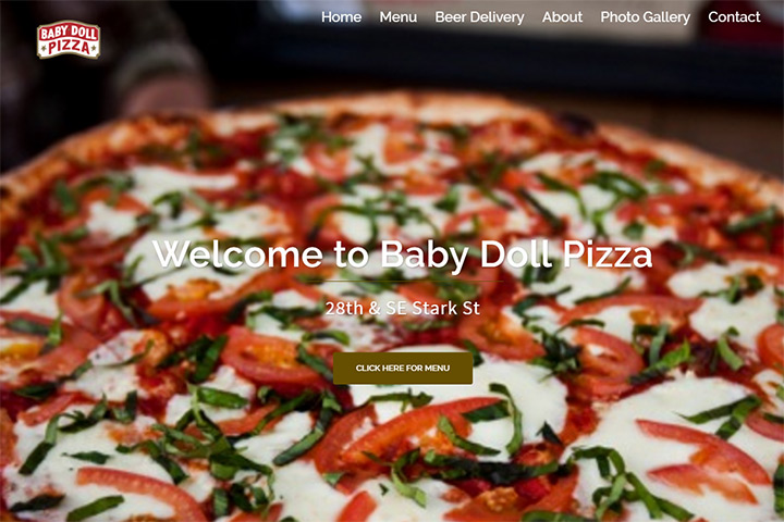 baby doll pizza