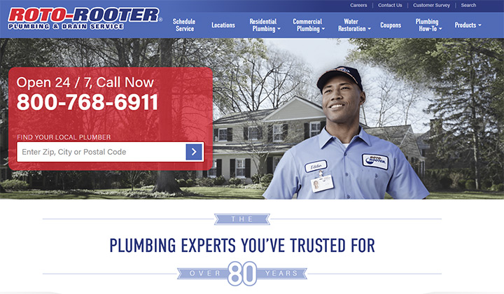 roto rooter website