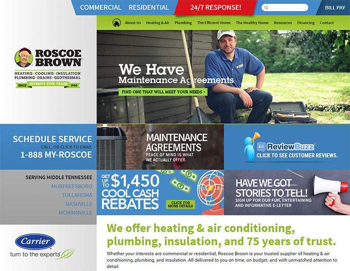 roscoe brown website