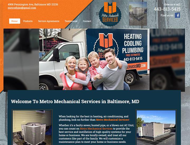 metro mechanical website