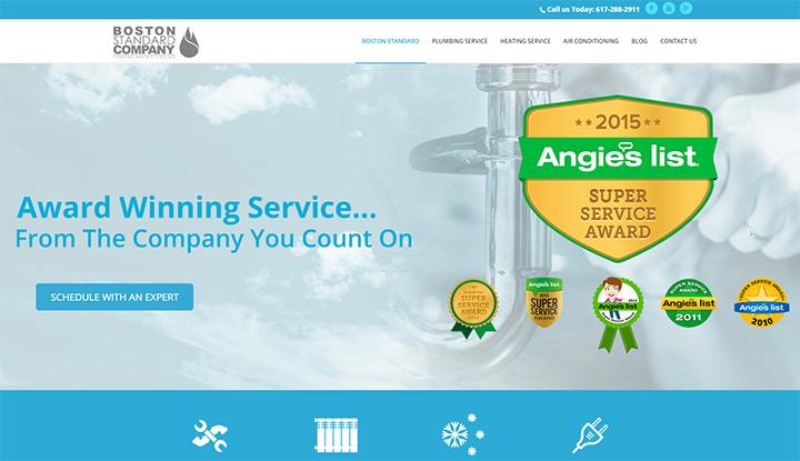 boston standard company plumbing