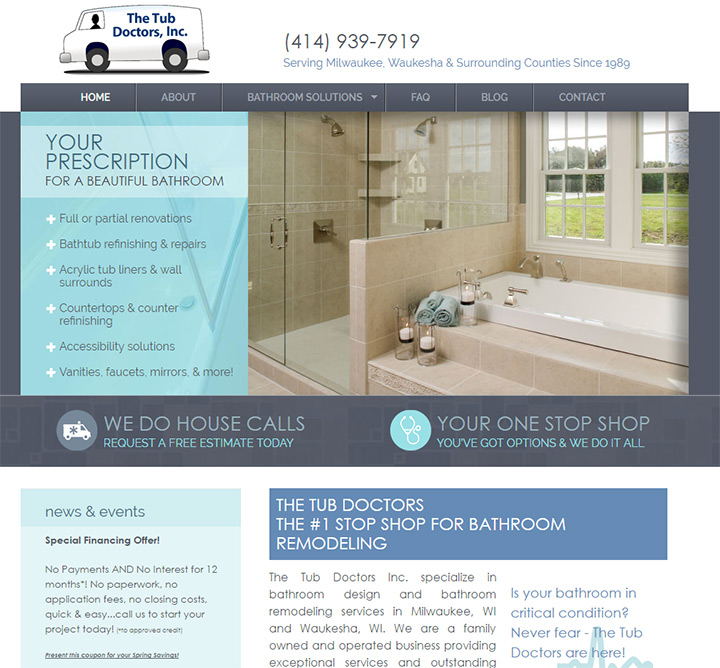 tub doctors website