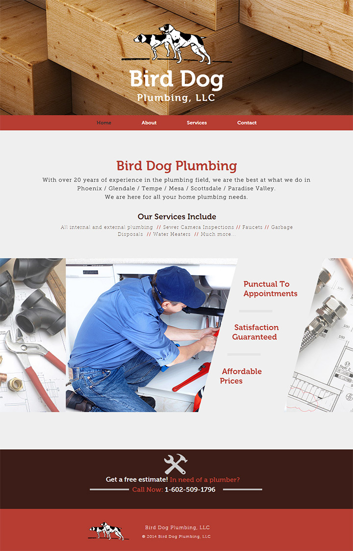 bird dog plumbing