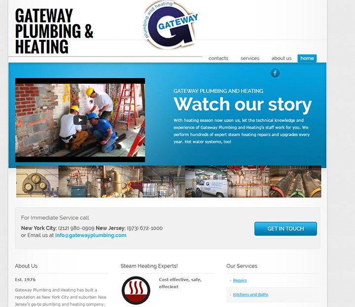 gateway plumbing website