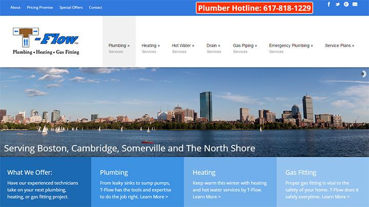 tflow plumbing website