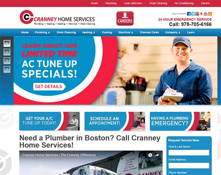 cranney home services website