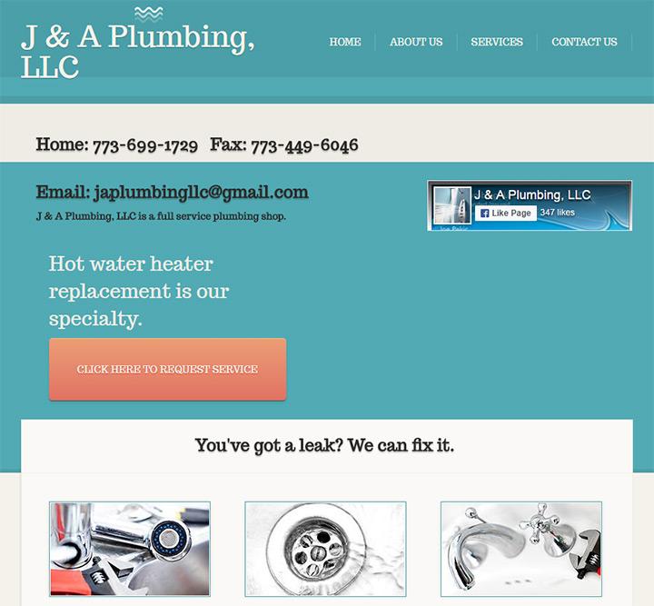 ja plumbing website