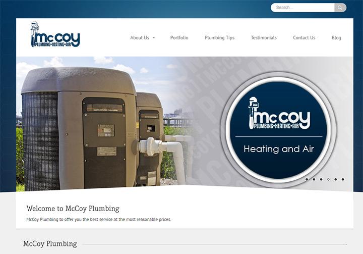 mccoy plumbing website