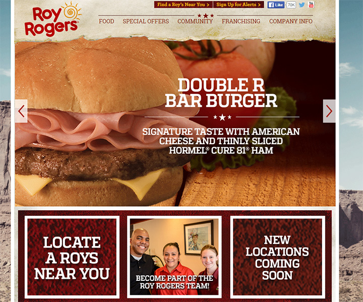 roy rogers website