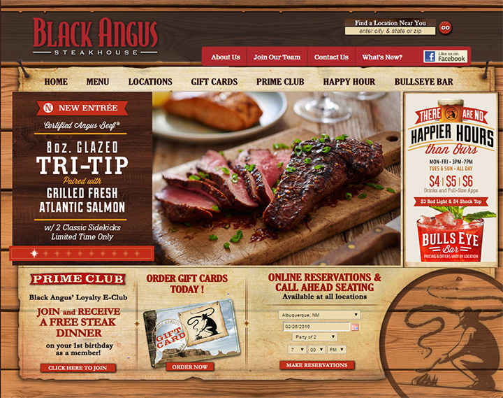 black angus website