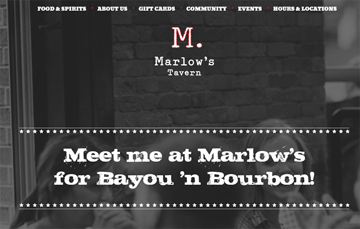 marlows tavern website