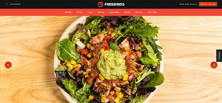 freebirds burgers