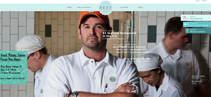 reef houston website