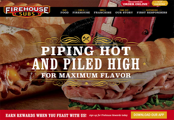 firehouse subs website