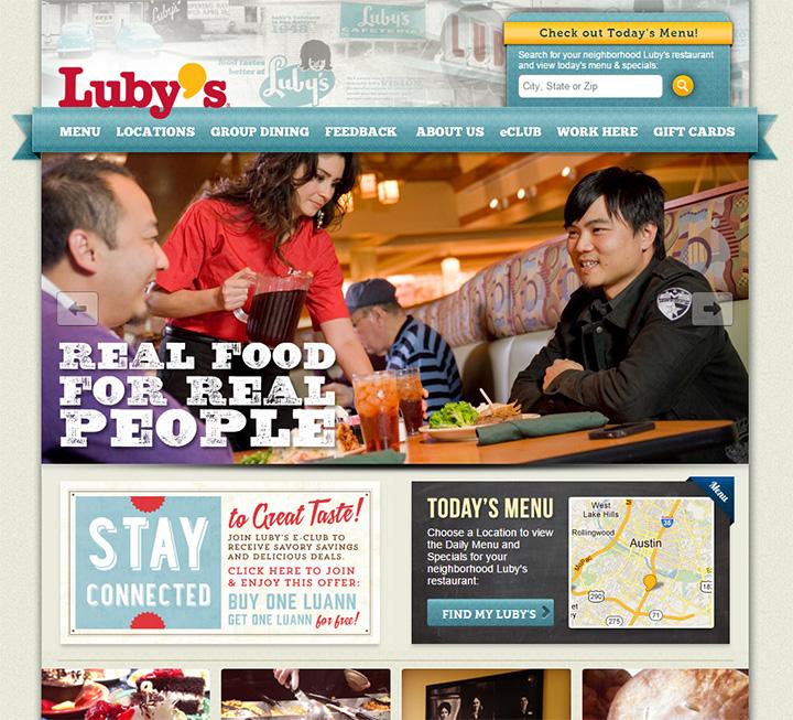 lubys restaurant website