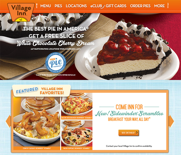 village inn website