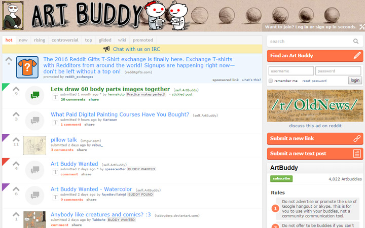 art buddy subreddit