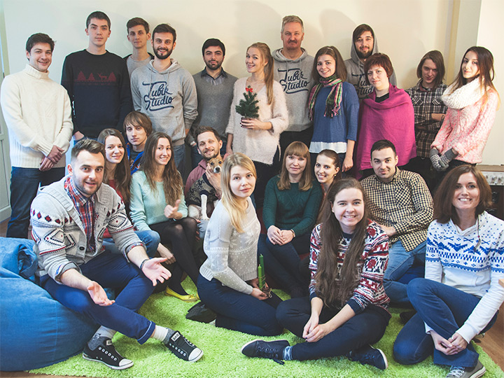 Tubik Studio team photo