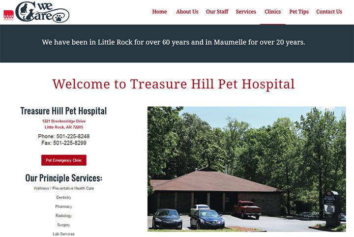 treasure hill pet hospital