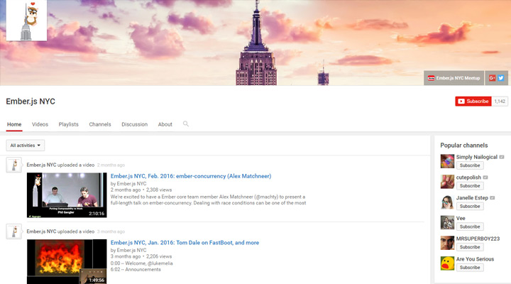 emberjs nyc youtube