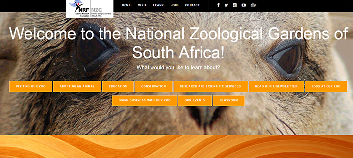 zoological south african gardens