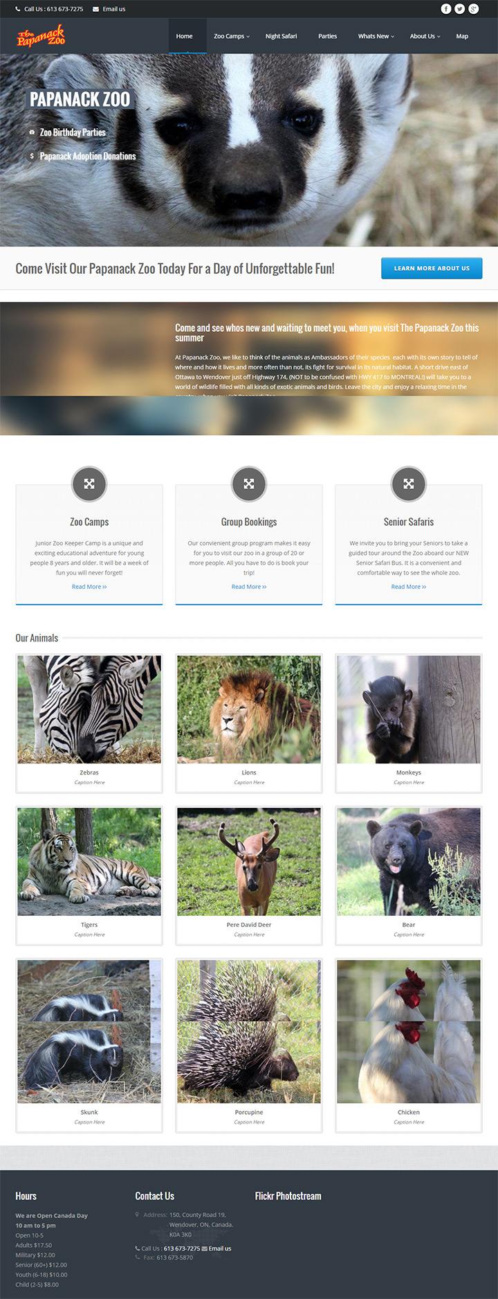 papanack zoo